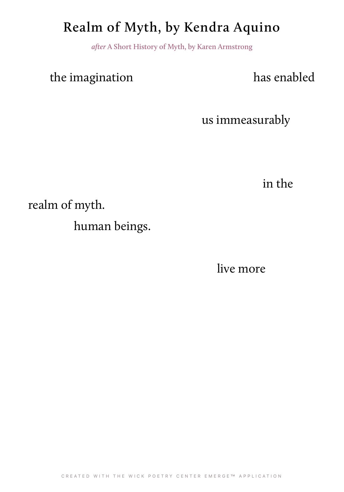 Realm of Myth