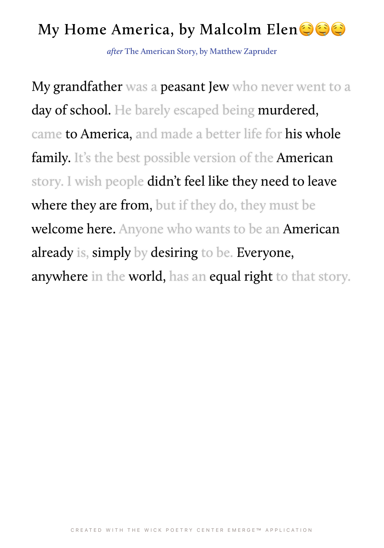My Home America